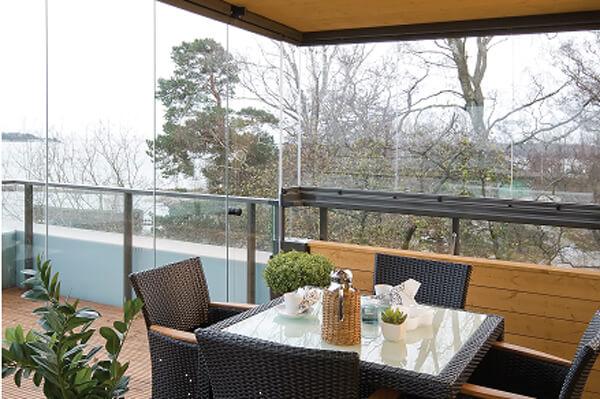 Озеленение балкона C Lumon